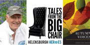 Robin LLoyd Jones - tales from the Big Chair at the Helensburgh Heroes Centre