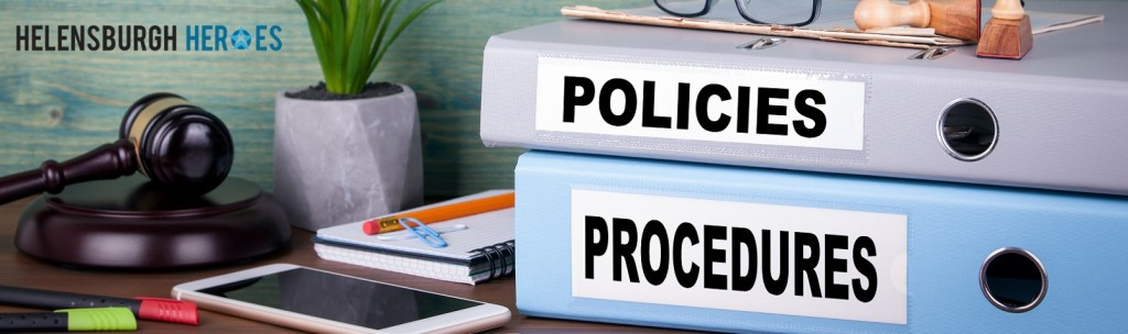 Helensburgh Heroes policies and procedures